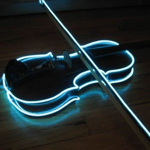 Glow in the Dark Violin