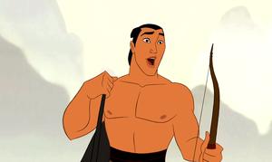 Walt Disney Screencaps – Captain Li Shang