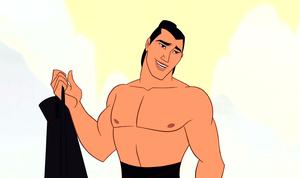 Walt 디즈니 Screencaps – Captain Li Shang
