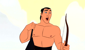 Walt Disney Screencaps – Captain Li Shang