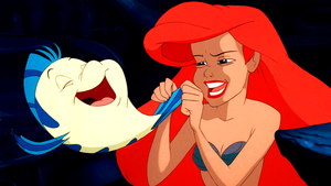 Walt disney Screencaps – linguado, solha & Princess Ariel