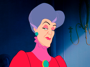 Walt Дисней Screencaps – Lady Tremaine