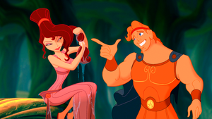 Walt Дисней Screencaps - Megara & Hercules