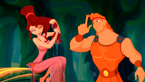 Walt ディズニー Screencaps - Megara & Hercules