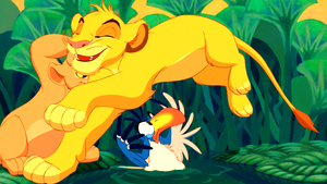 Walt Disney Screencaps - Nala, Simba & Zazu