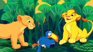 Walt disney Screencaps - Nala, Zazu & Simba
