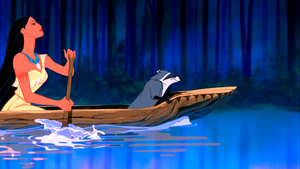 Walt Disney Screencaps - Pocahontas & Meeko