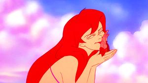 Walt Дисней Screencaps – Princess Ariel & Sebastian
