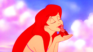 Walt Disney Screencaps – Princess Ariel & Sebastian