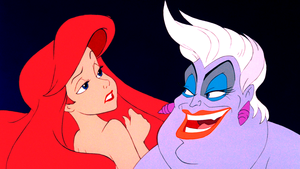 Walt Disney Screencaps – Princess Ariel & Ursula
