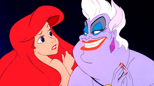 Walt Disney Screencaps – Princess Ariel & Ursula