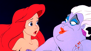 Walt डिज़्नी Screencaps – Princess Ariel & Ursula