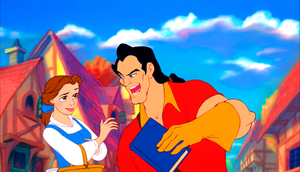 Walt 디즈니 Screencaps - Princess Belle & Gaston