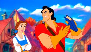 Walt 迪士尼 Screencaps - Princess Belle & Gaston