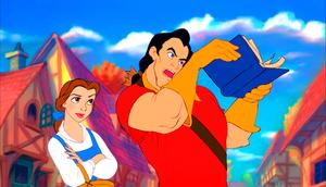 Walt disney Screencaps - Princess Belle & Gaston