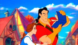Walt 디즈니 Screencaps - Princess Belle & Gaston