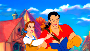 Walt 迪士尼 Screencaps - Princess Belle & Gaston