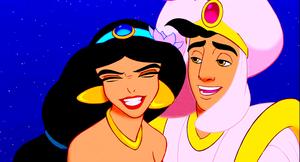 Walt ডিজনি Screencaps - Princess জুঁই & Prince আলাদীন