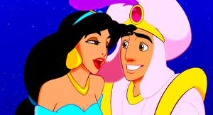 Walt Disney Screencaps - Princess jimmy, hunitumia & Prince Aladin