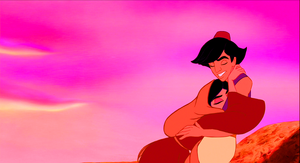 Walt Disney Screencaps - Princess jasmin & Prince Aladin