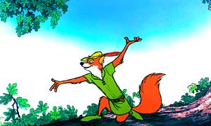 Walt Disney Screencaps - Robin hud, hood