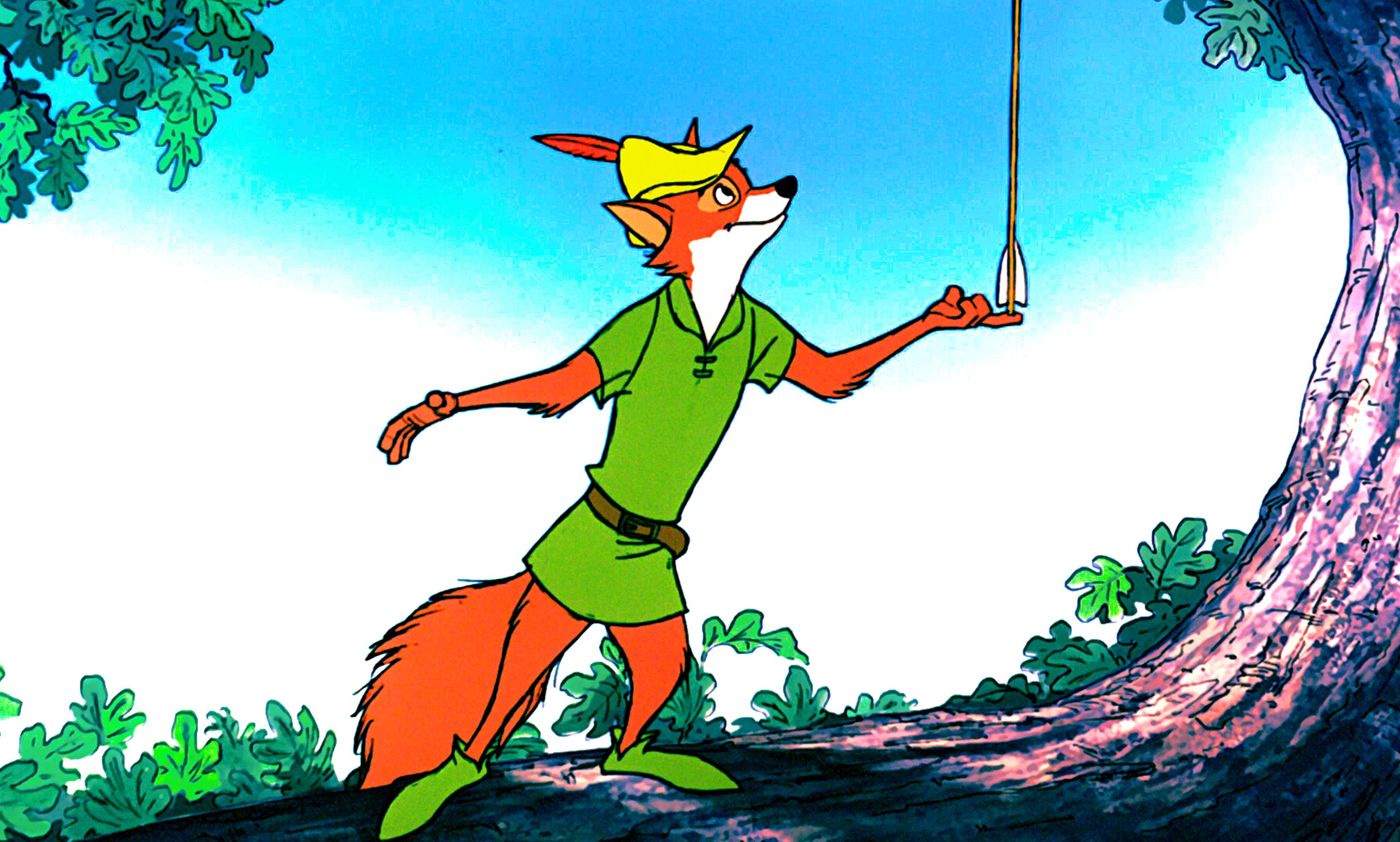 Walt Disney Screencaps - Robin Hood