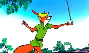 Walt Disney Screencaps - Robin haube