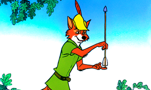 Walt Disney Screencaps - Robin capuche, hotte
