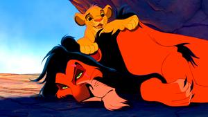 Walt Disney Screencaps - Scar & Simba