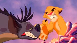 Walt ডিজনি Screencaps – Shenzi Simba