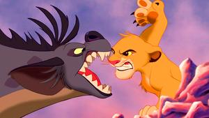 Walt disney Screencaps – Shenzi & Simba