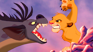 Walt Disney Screencaps – Shenzi & Simba