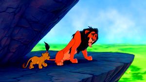 Walt ディズニー Screencaps - Simba & Scar