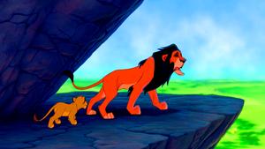 Walt Дисней Screencaps - Simba & Scar