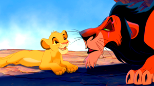 Walt डिज़्नी Screencaps - Simba & Scar