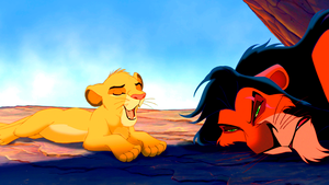 Walt Disney Screencaps - Simba & Scar