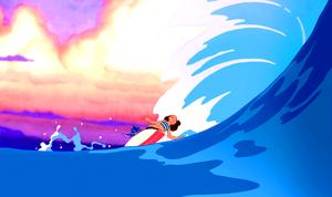 Walt disney Screencaps – Stitch, Nani Pelekai & Lilo Pelekai