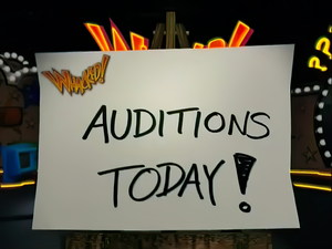 Whacked! Auditions Sign (Topaz Gigapixel AI)