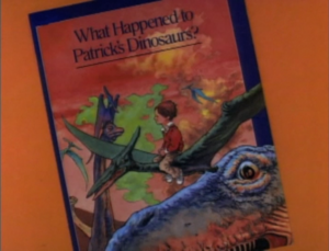 What Happened to Patrick's Dinosaurs? titlecard