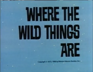Where The Wild Things Are titlecard