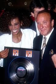 Whitney Houston And Clive Davis