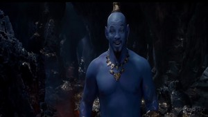 Will Smith as Genie in 2019 Film アラジン