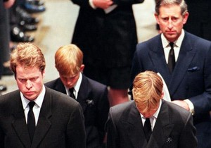 William Harry Charles Earl Spencer and Prince Charles