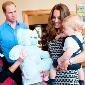 William Kate and George 12