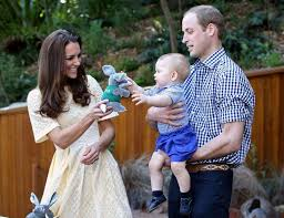 William Kate and George 15