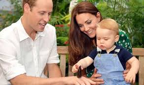 William Kate and George 16