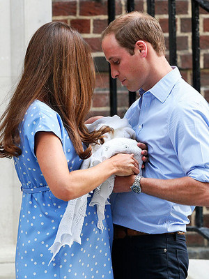 William Kate and George 2