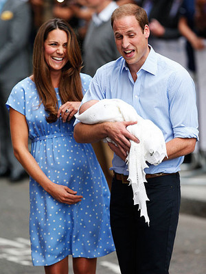 William Kate and George 3