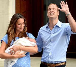 William Kate and George 6