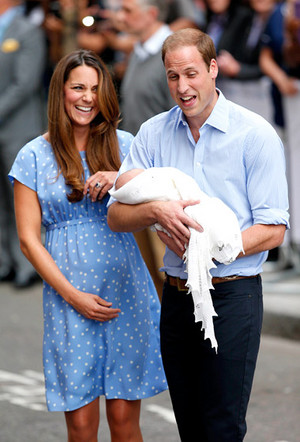 William Kate and George 7